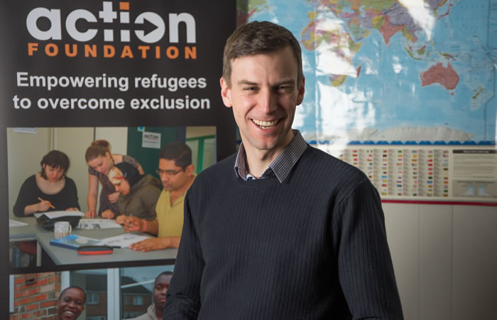 Julian Prior, Executive Director at Action Foundation