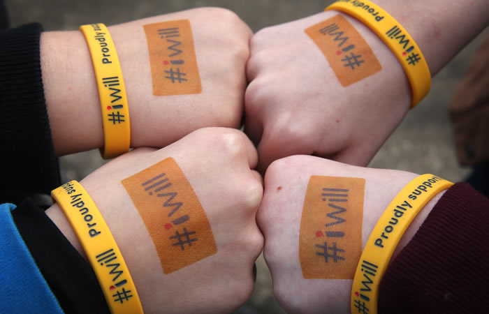 #iwill Take Action Fund Hands